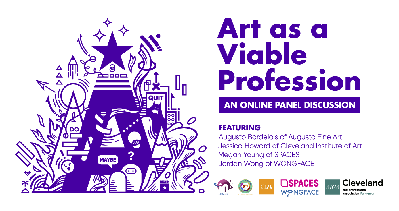 virtual art panel forum