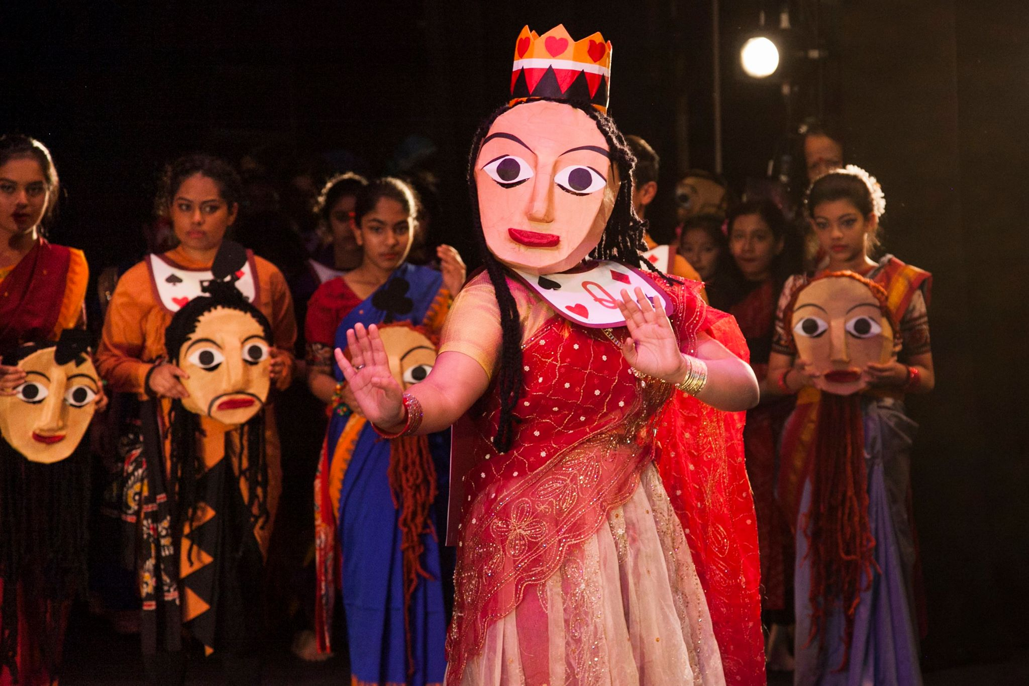 Tasher Desh: The Land of Cards, Bangladesh Institute of Performing Arts