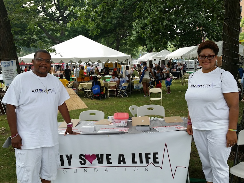 WHYSaveALife Foundation supporting the community