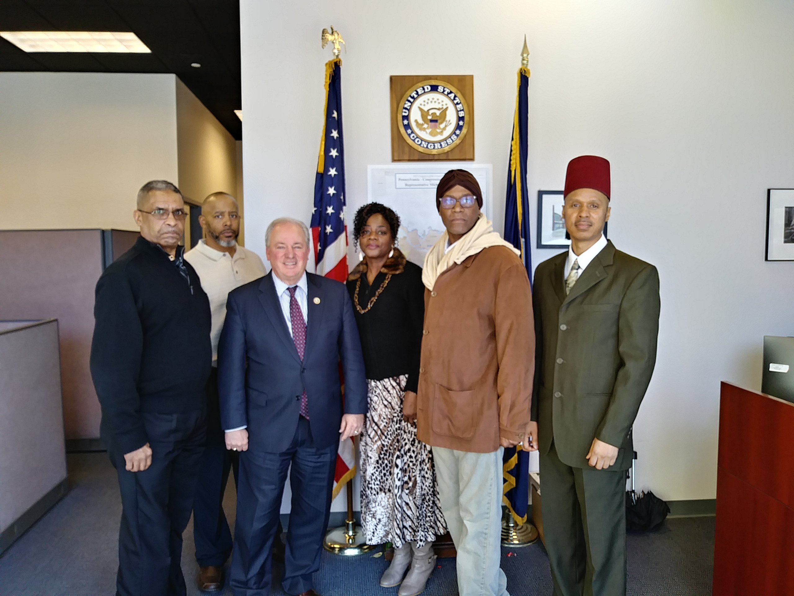 Congressman Mike Doyle Meeting with PLC