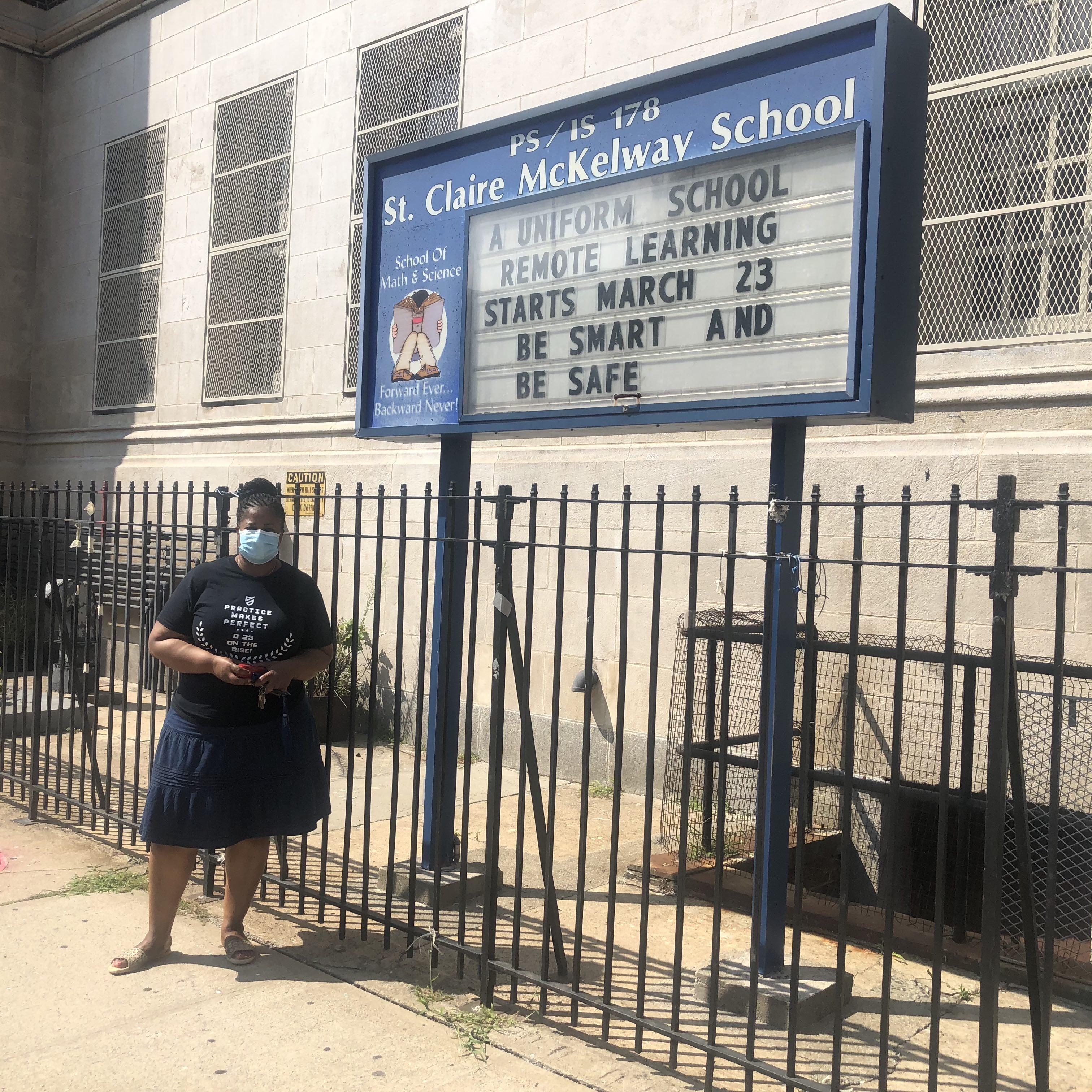 Principal wants garden, fresh food in Brownsville