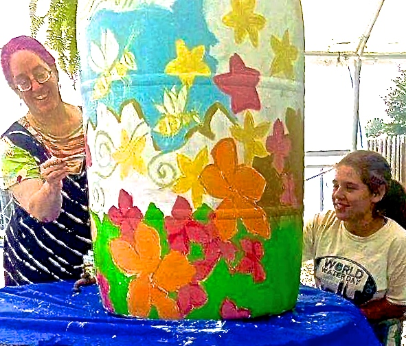 Paint your Rain Barrel!!