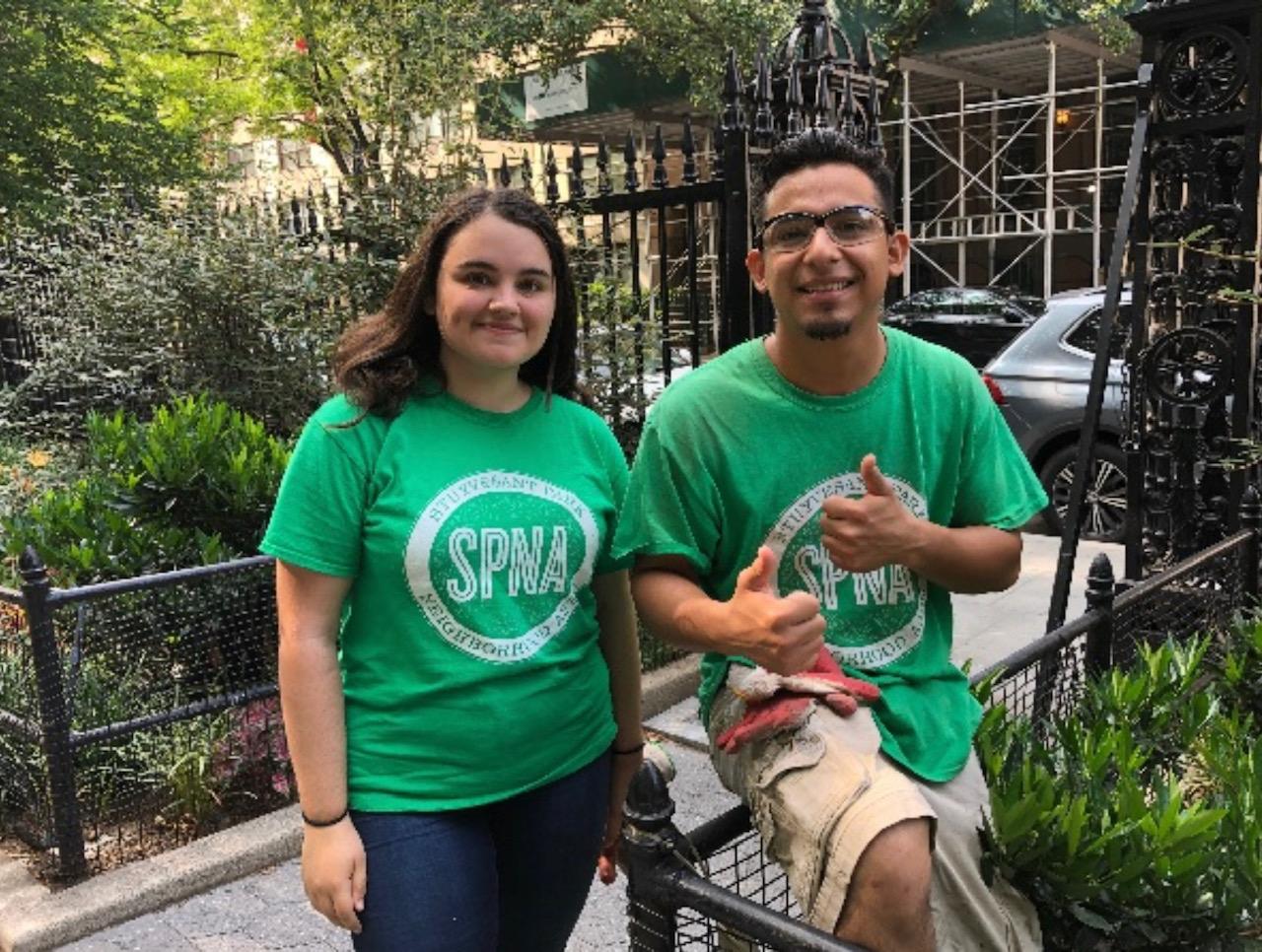 SPNA volunteers