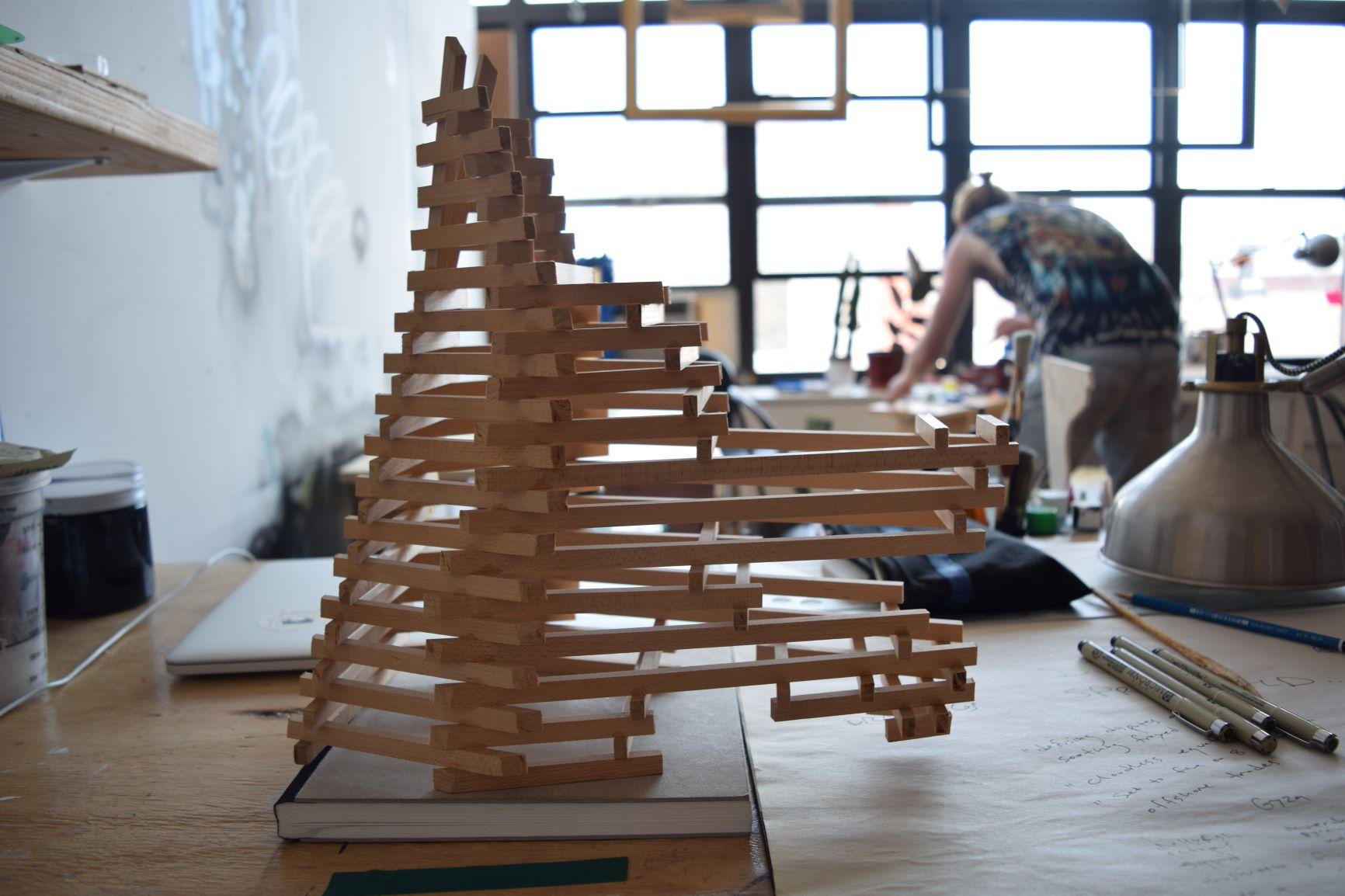 Wooden Mock-Up