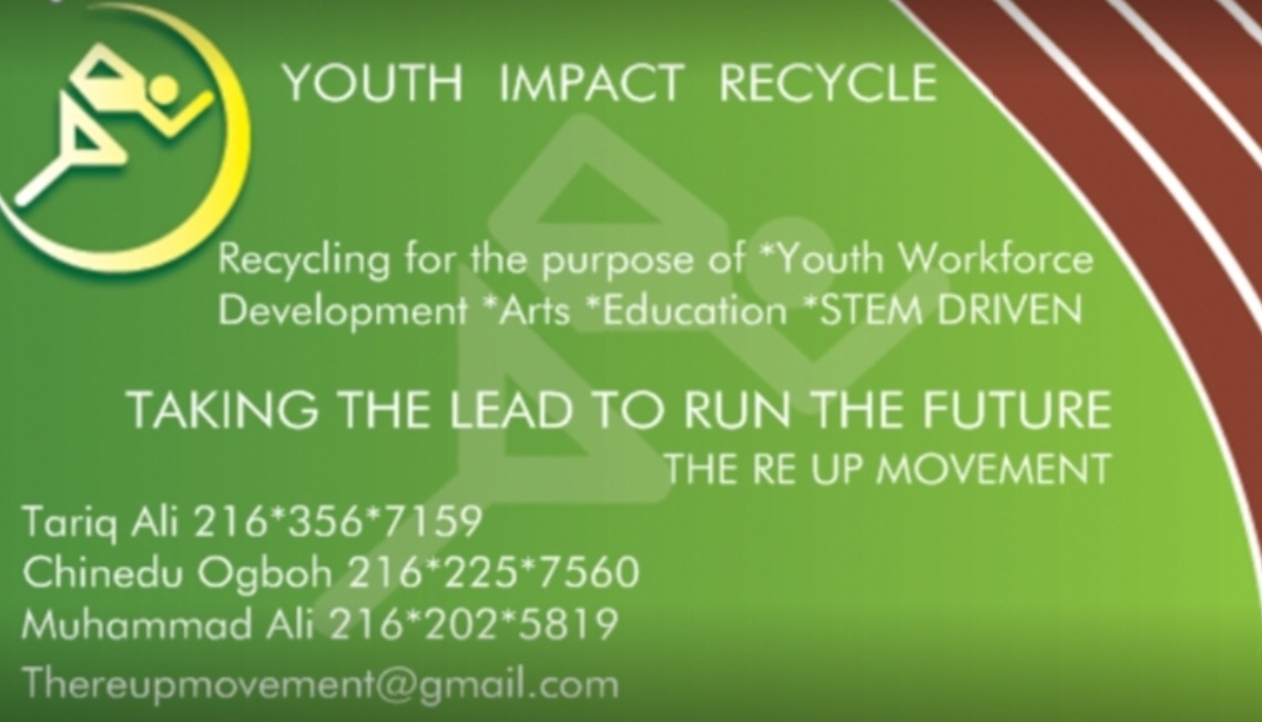 *Youth Impact Recycle-Recycle.Rejoice.Recreate*
