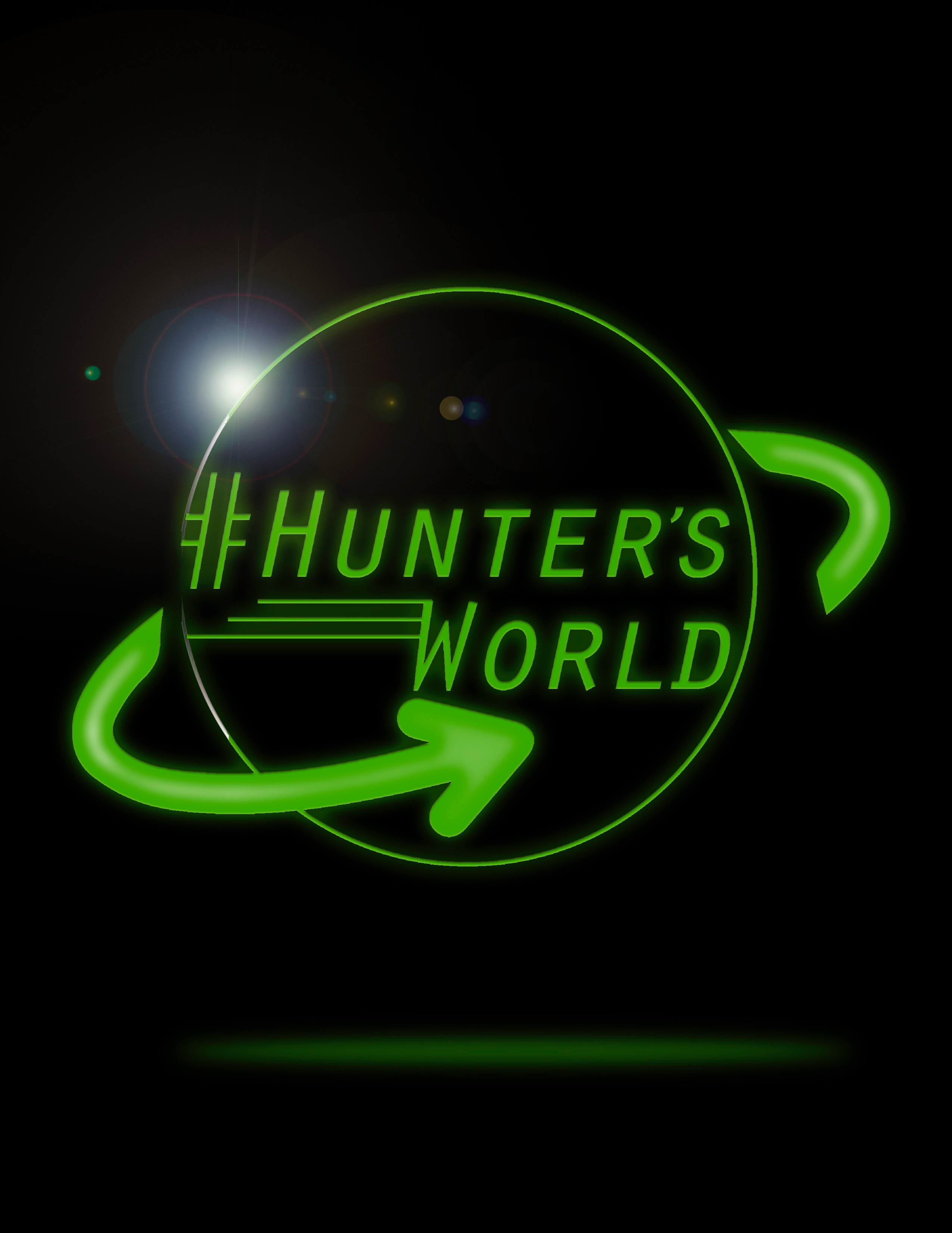 Hunter's World Logo