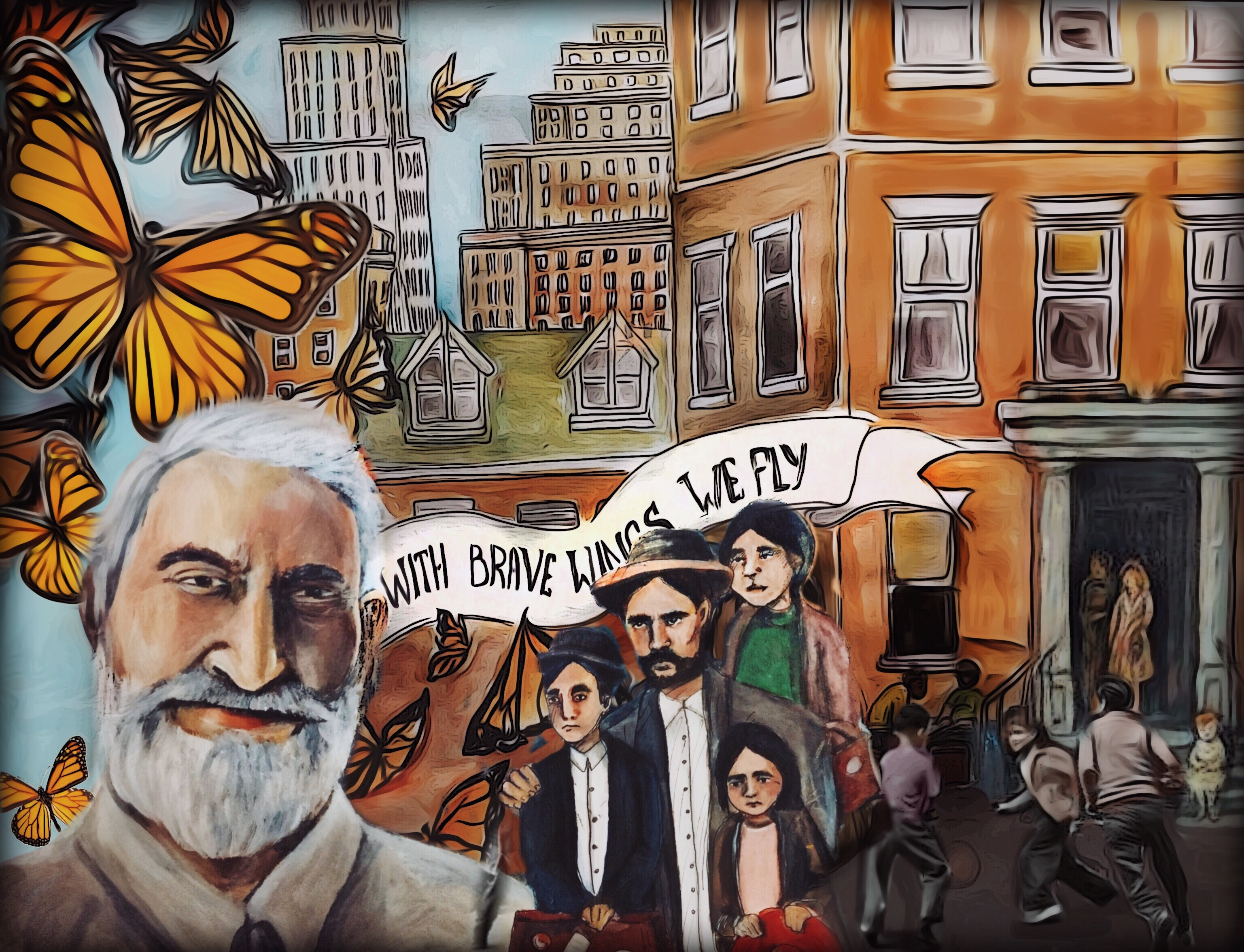 Elmhurst Literary Mural -Pedro Juan Soto