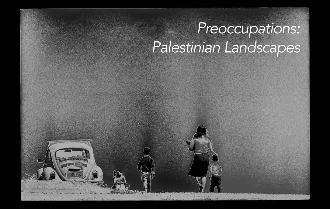 Horizons (Jerusalem) (detail), 1978-79, Najib Joe Hakim