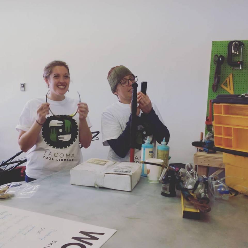 Tacoma Tool Library organizers