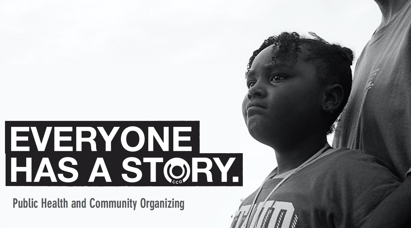 Everyone has a story -- Communities Creating Opportunity