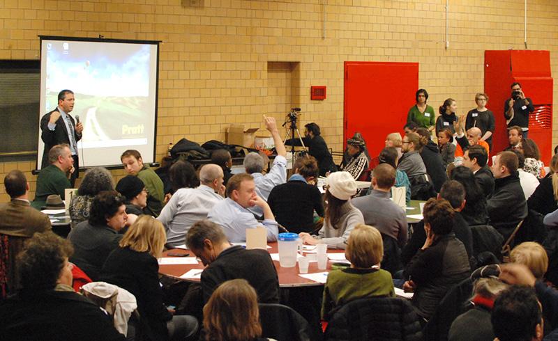 Bridging Gowanus meeting with Councilmember Brad Lander