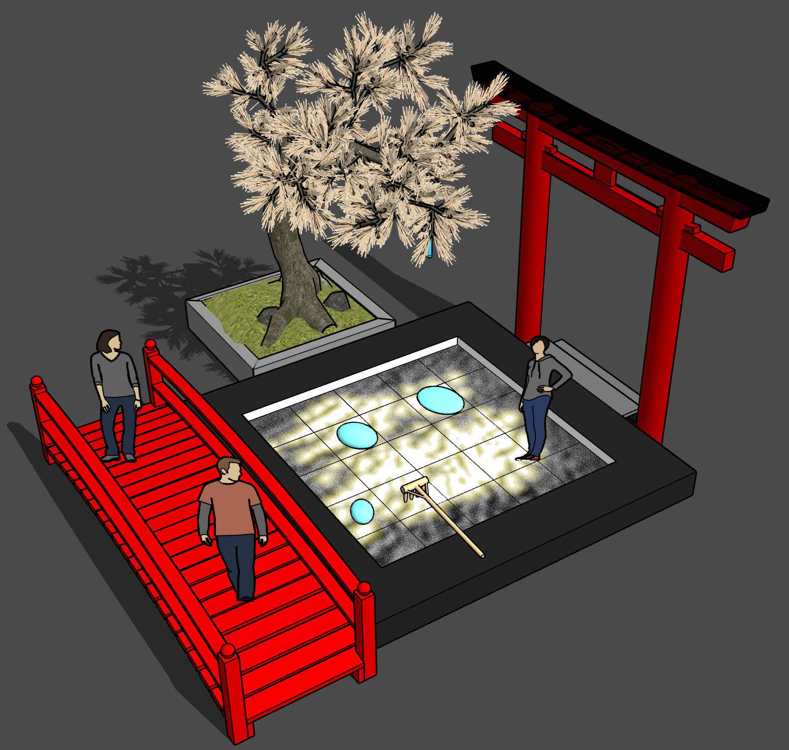 Zen SoundScapes Overhead Concept View