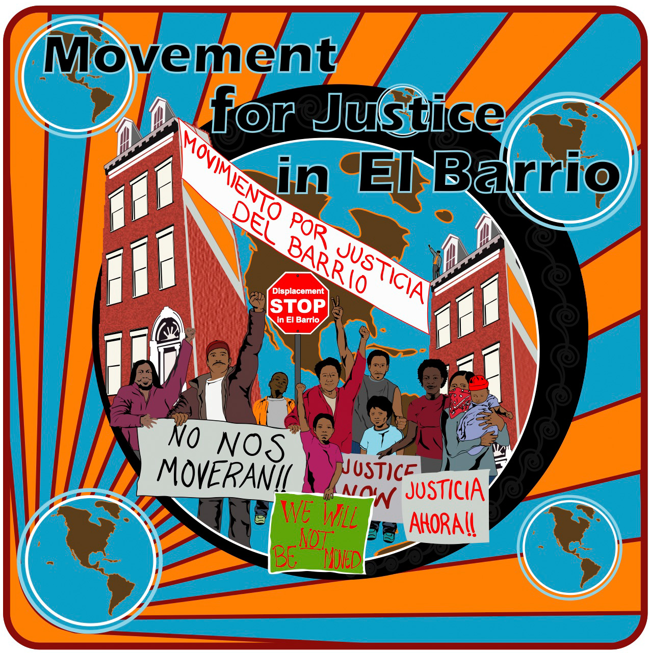 ovement for Justice in El Barrio logo