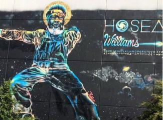 Hosea Williams wall mural