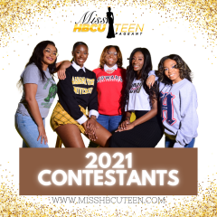 2021 Miss HBCU Teen Scholarship Pageant Contestants