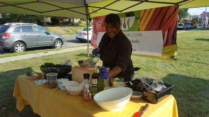 Live cooking demonstrations