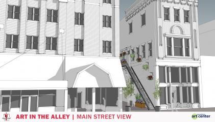 Main Street View (Idea Rendering)