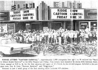 1964 Elba Clipper Newspaper Photo - Elba Theatre Hosts Kids