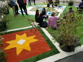 Flying Carpet (Temporary Green Space)