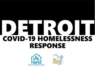 Detroit COVID-19 Homeless Response Image