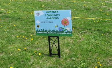 Tufts Park Community Garden Coming Soon