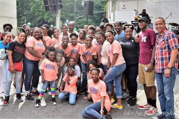 IMPACT Youth Perform Outdoors in Harlem