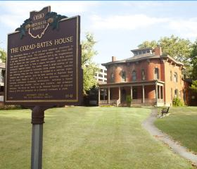 Cozad Bates House, 1853, Mayfield Rd University Circle