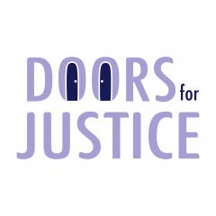 Logo for the Doors for Justice Project