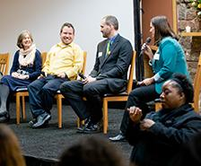 Panel at Redefining Inclusion Event