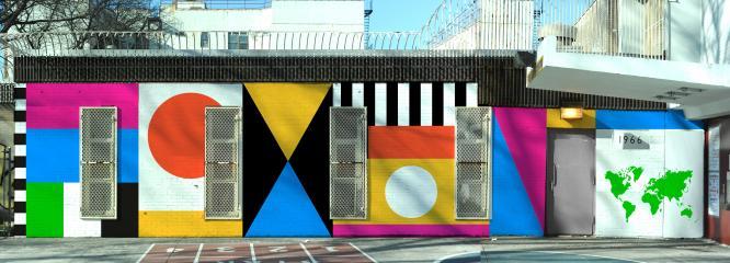 PS 316 wall mural proposal