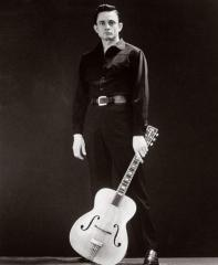Johnny Cash by Leigh Wiener 1962. Johnny Cash Statue Project.