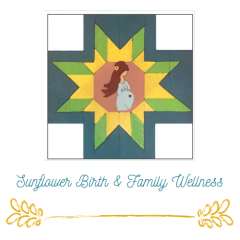 Sunflower BIrth & Family Logo