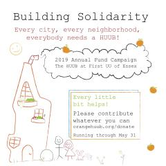 Support our 2019 Annual Campaign: Building Solidarity!