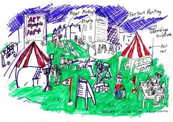 Art Olympic Festival Site.