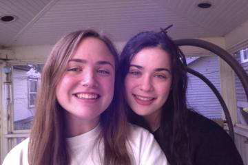 Meaghan and Mia