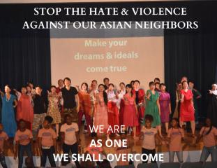 Stop Hate Against Our Asian Neighbors