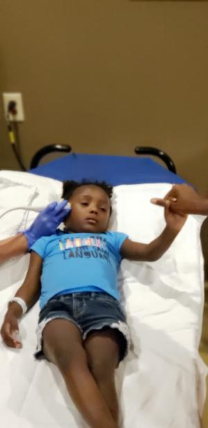 Gia Sickle Cell Warrior