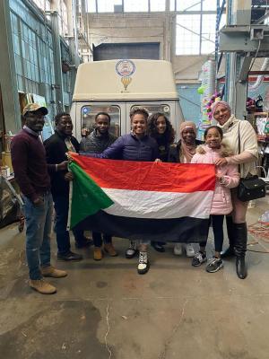 Habboba with Sudanese Community
