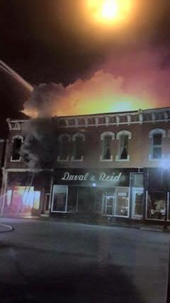 This fire in downtown Moberly has deprived the community of one of its most historic buildings.