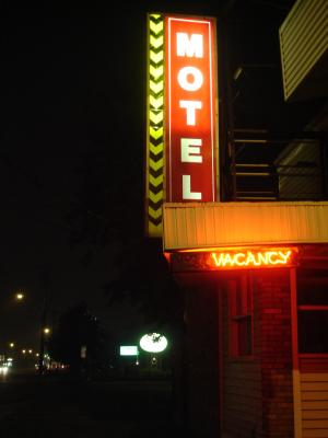 Exiled in America is set at a low-budget resident motel, a crossroad of those heading towards homelessness or from homelessness.