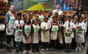 Ms. Scott's Third Grade Class at Alice's Arbor Restaurant