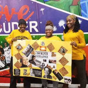 Youth and staff celebrate black excellence