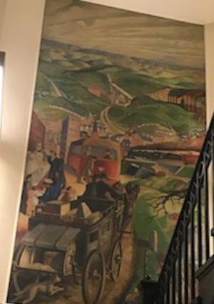 WPA Wilkinsburg History Mural