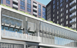 Rendering of the SWDC Community Center