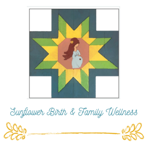 Sunflower BIrth & Family Logo