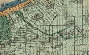 Minetta Brook Watershed (1865)