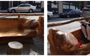 elm benches