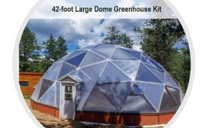 Geodesic Grow Dome for Aquaponics Farming