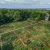 Aerial image of Ben Franklin Community Garden